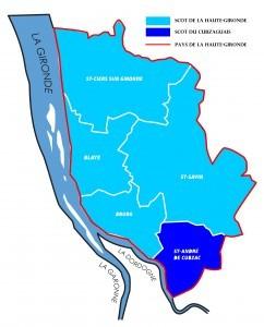 Carte simple Haute Gironde essai