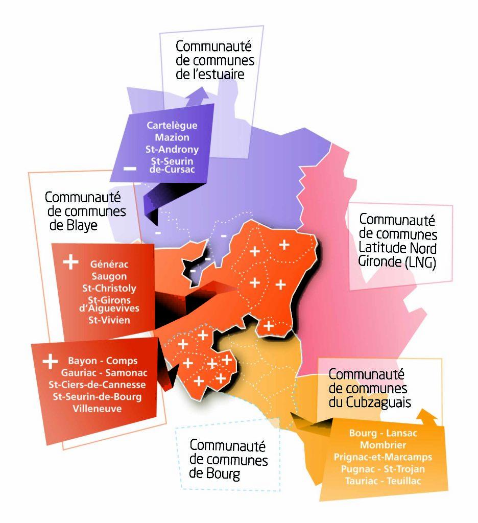 schéma des communes