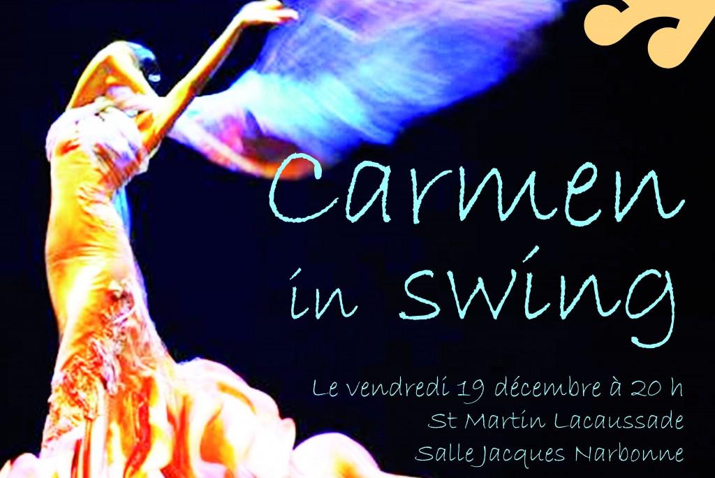 Quand Carmen se met à swinguer… L'EMI fait son concert de Noël