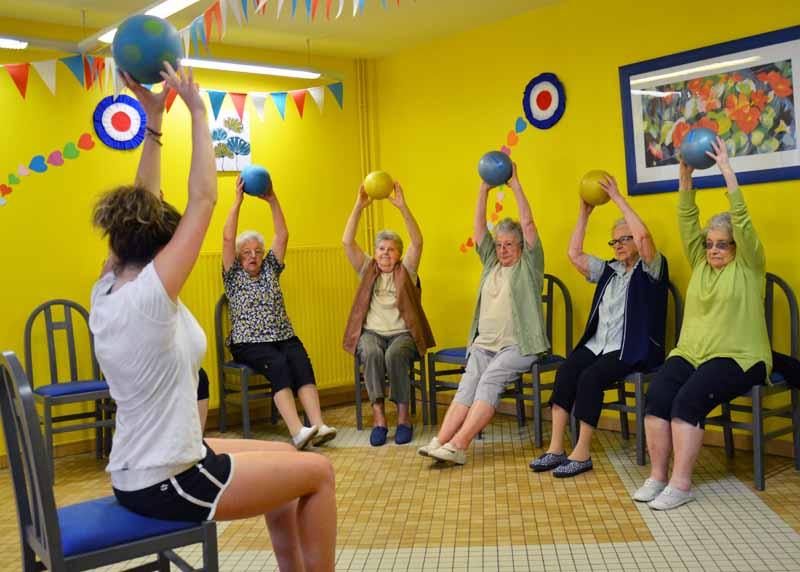 Après la conférence «bien vieillir», chaque semaine des ateliers «santé» pour les seniors.