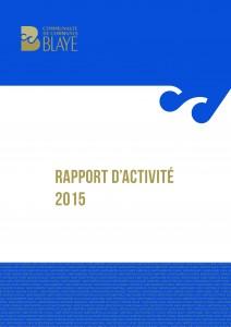 Rapport d'activité 2015 (basse def) - à télécharger