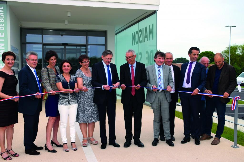 La Maison de santé de Blaye inaugurée
