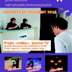 PRIJ Programme vacances Toussaint 2016