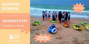 Prij - programme vacances été 2018