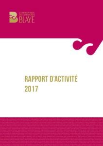 CCB - Rapport d'activité 2017
