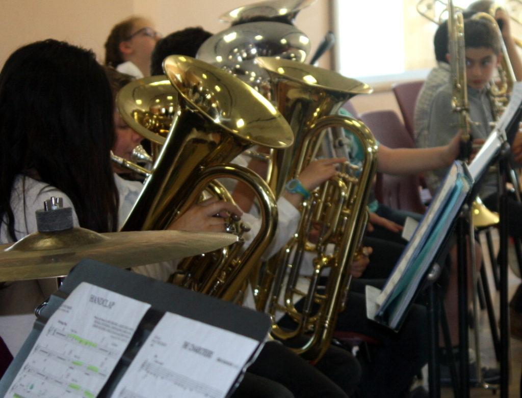 En 2019, l'école de musique multiplie les représentations et quadrille le territoire !
