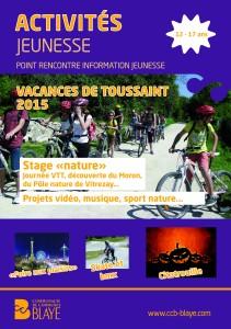 toussaint 2015 couverture