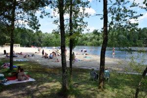 Cyanobactéries : la baignade aux Lacs de St Christoly interdite jusqu'à nouvel ordre