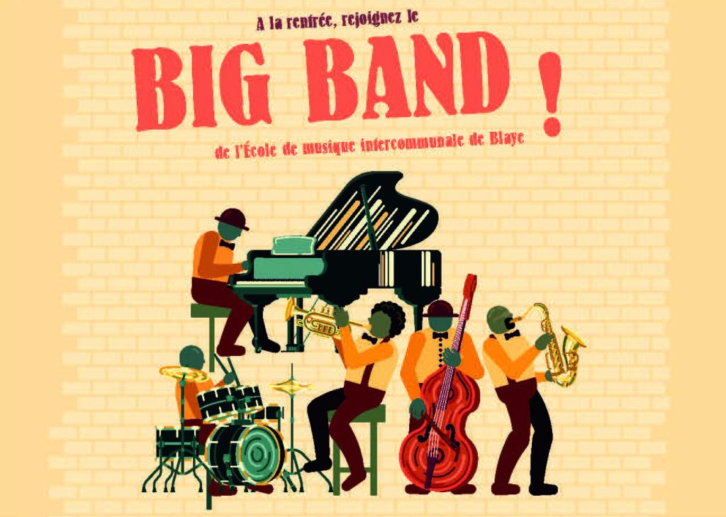 Un «big band» pour une nouvelle pratique instrumentale collective «adultes»