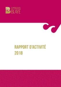 CCB - Rapport d'activité 2018