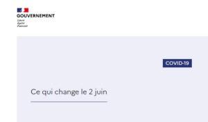 Ce qui change le 2 juin : les consignes gouvernementales sur la phase de déconfinement