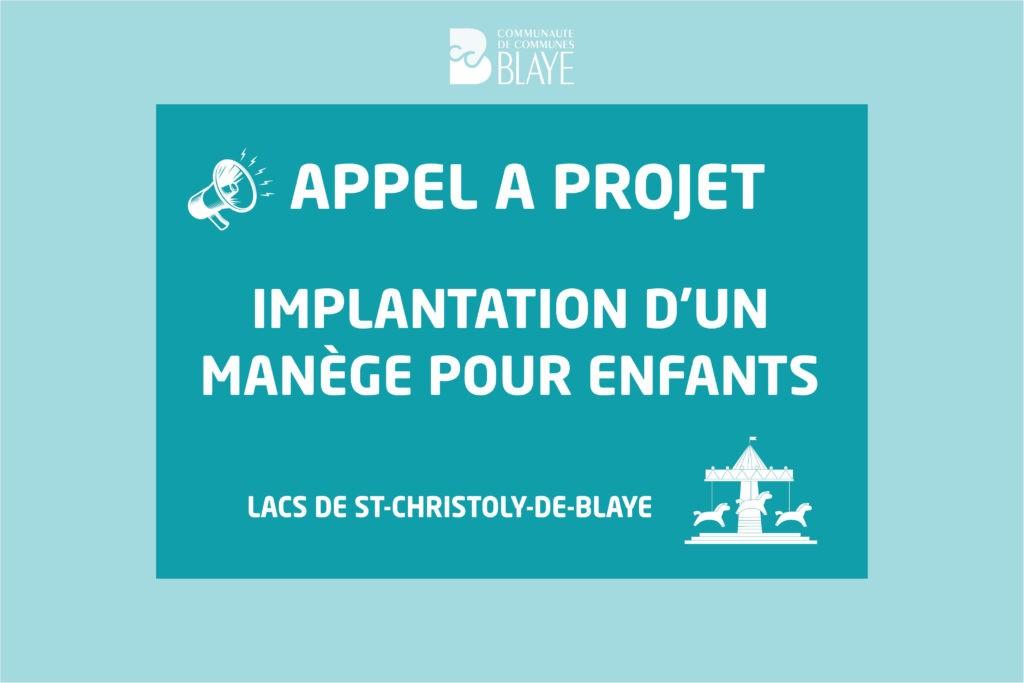 Manège aux lacs de St Christoly – Appel à projet pour la période Juillet – Aout 2021